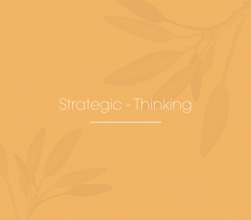 Strategic – Thinking